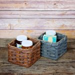 Gift Box Basket Brown