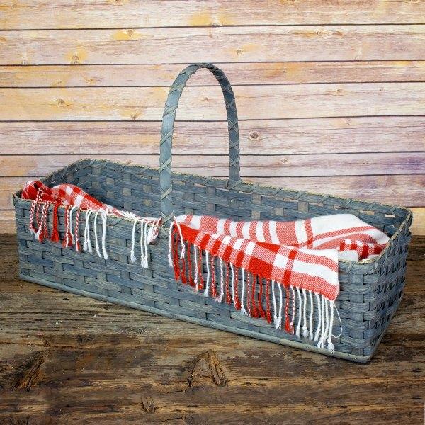 Hearth Basket Gray