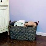 Medium Laundry Basket Gray