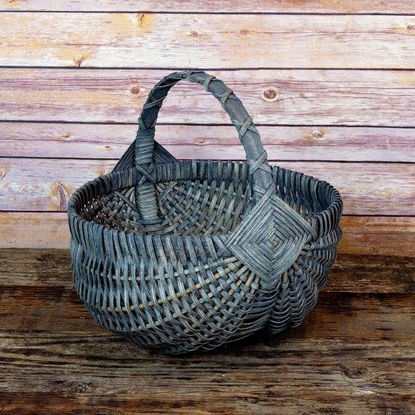 Medium Regular Egg Basket Gray