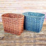 Medium Waste Basket Gray