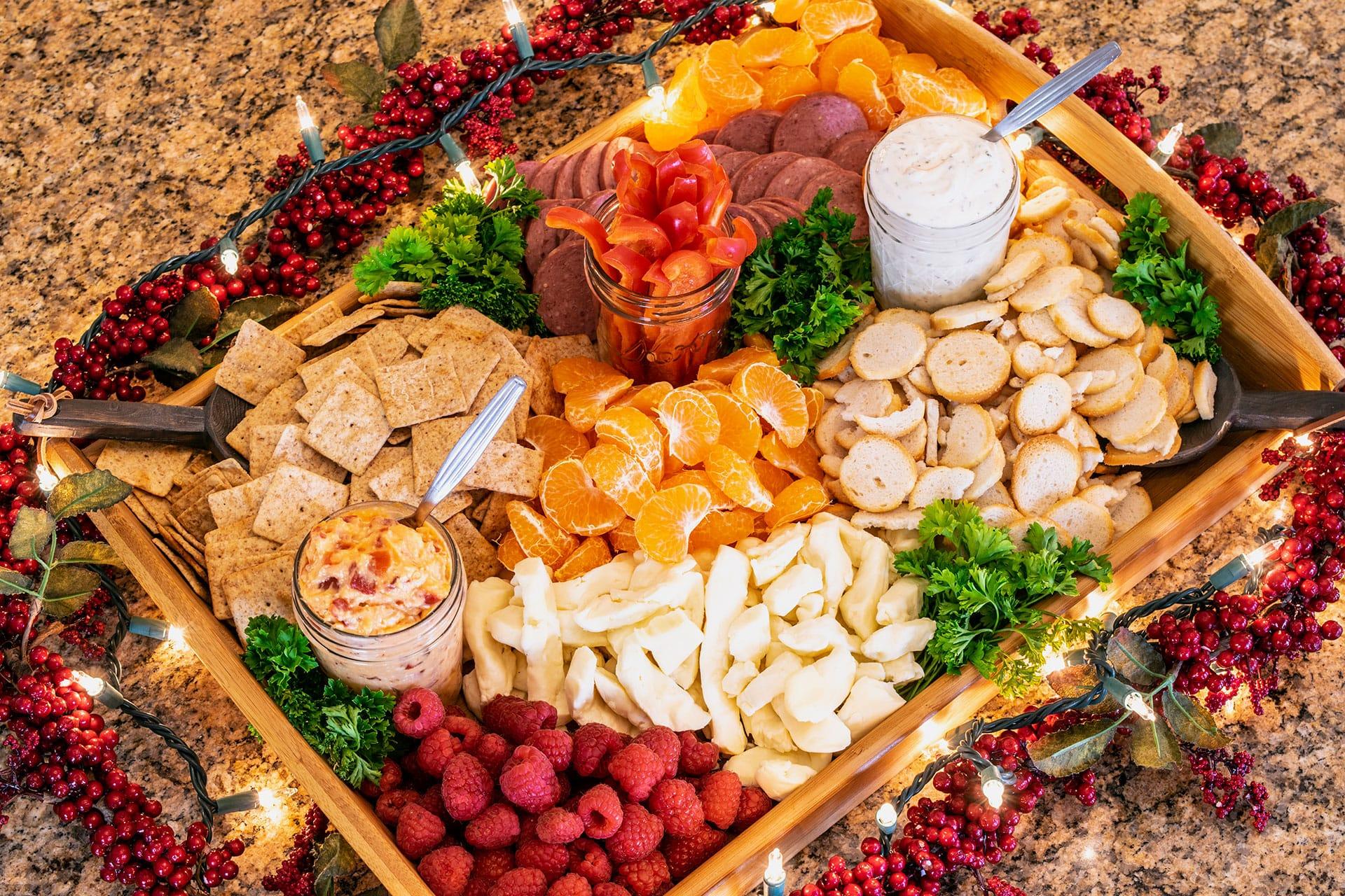 Savory Holiday Entertaining Platter