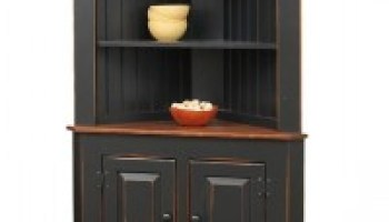 5 Easy Ways to Organize a Display-Worthy Corner Hutch – TIMBER TO ...