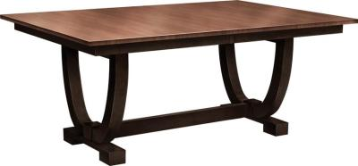Amish Falcon Trestle Table