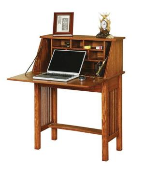 Amish American Arts and Crafts Secretary Desk