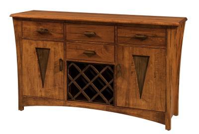 Delphi Sideboard with Wine Rack Option