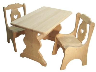 Amish Rustic Children's Table