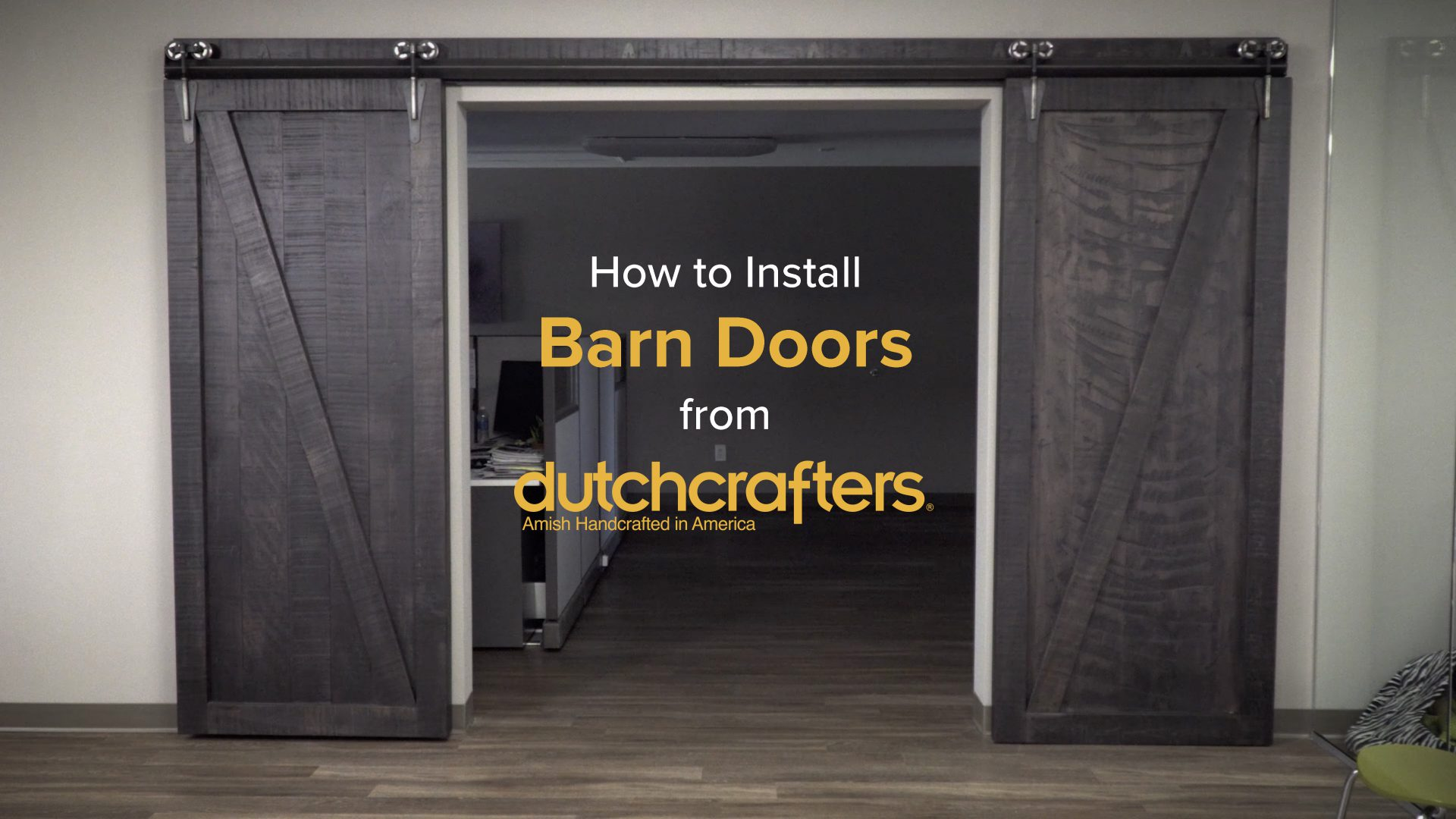 How To Install Interior Sliding Barn Doors Dutchcrafters