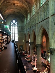 Maastricht Bookstore in a Church