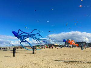 Scheveningen Kite Festval Beach