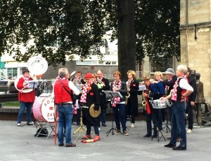 Band Plays in Valkenburg Centrum