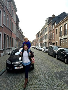 Walking down the streets of Leiden