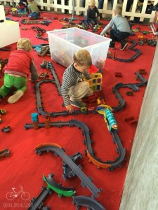 Chuggington Train Play in Utrecht