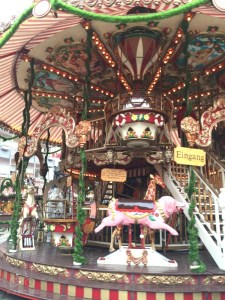 Carousel at the Christmas Market