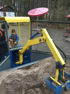 Excavator at the Zoo