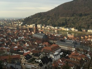 Heidelberg City View from Castle