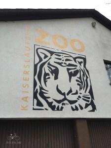 Kaiserslautern Zoo Sign