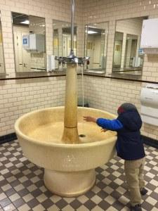 Bathroom Sink Utrecht Train Museum