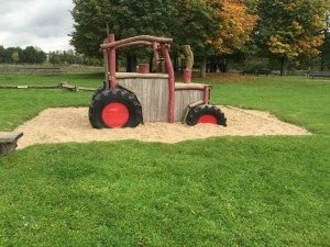 Breda Playground Tractor in the Sand