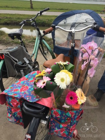 Bike Full of Flowers