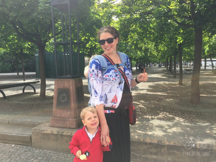 Berlin Park Stroll
