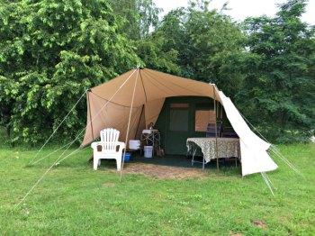 Holland Tent Exterior