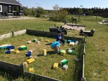 Romo Playground Lego Bricks