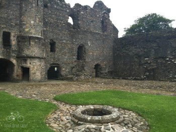 Balvenie Castle Inside
