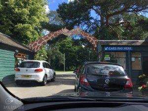 Entrance to Blair Drummond Safari & Adventure Park