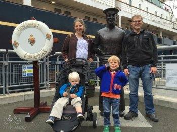 Family at RMY Britannia