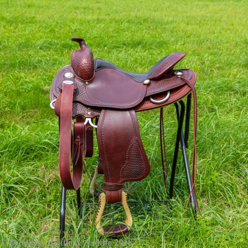 Crates Basketweave Saddle
