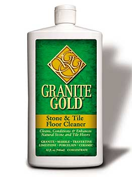 granite gold stone tile floor cleaner cleaning supplies buy it now