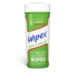 Wipex 75 watermelon fitness equipment wipes