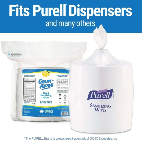 antibacterial wipes fits most dispensers helps protect against MERS coronavirus from wuhan China