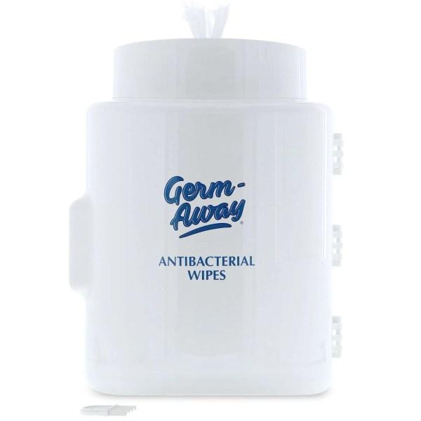 Germ-Away Dispenser Front