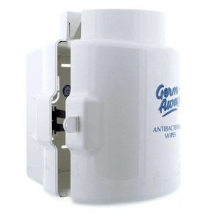 Germ-Away Dispenser Side Lock