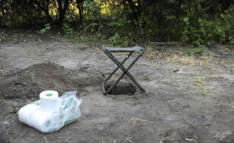 Toilet Okavango Delta