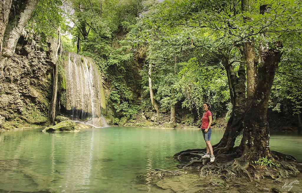 Erawan waterval, Thailand