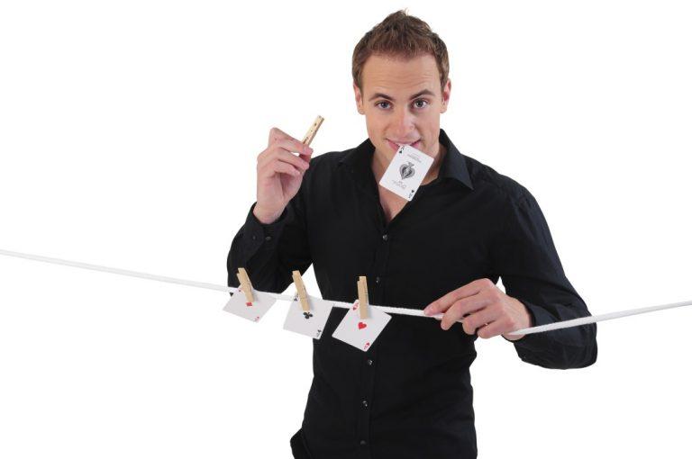 business magic goochelaar Robin Matrix www.dutchmagic.nl