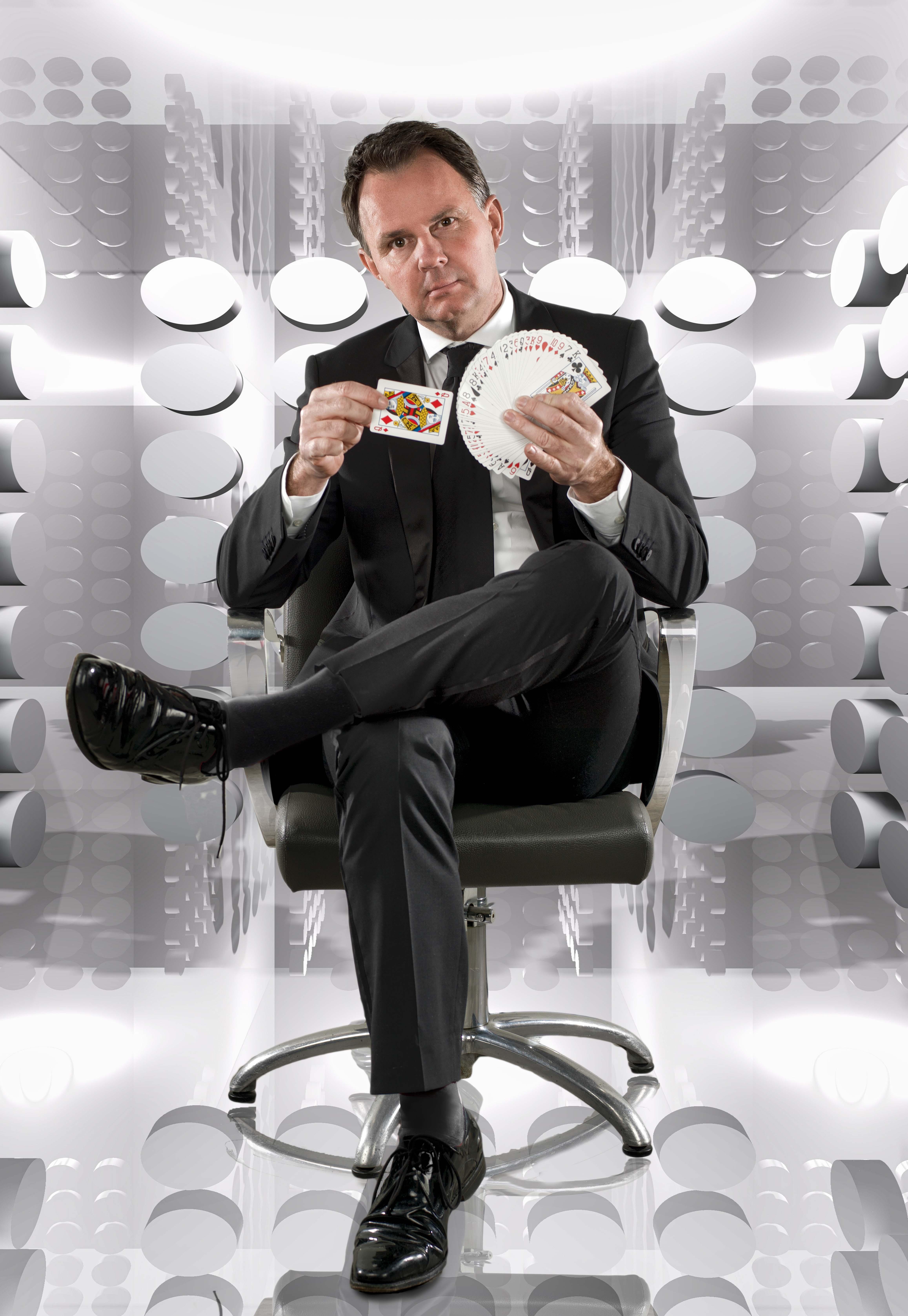 goochelaar Peter Vogel, portfolio foto