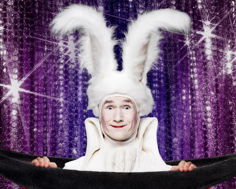 THE WHITE MAGIC RABBIT ACT