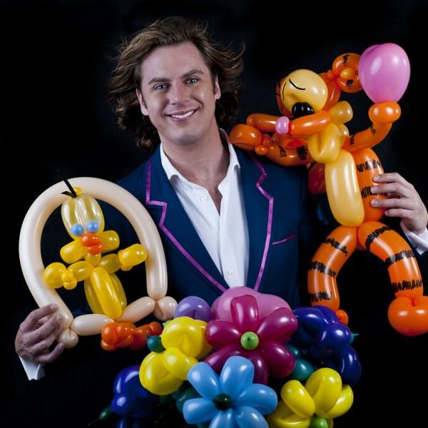 ballooning door ballonartiest Martijn Martell