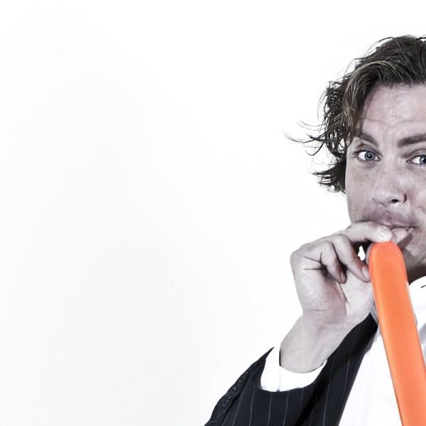 ballooning door ballonkunstenaar Martijn martell