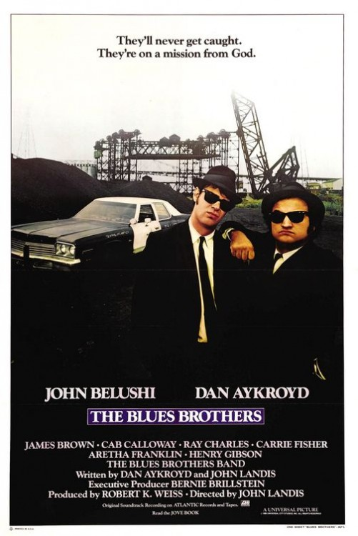Blues Brothers, met John Belushi