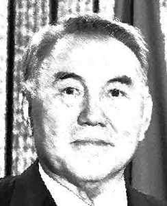 Noersoeltan Nazarbajev van Kazachstan
