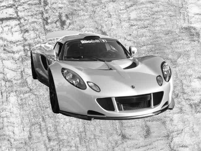 Hennessey-Venom-GT, de 10 snelste auto's van dit moment