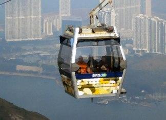 Beste kabelbaan ter wereld is de Ngong Ping 360 in Hong Kong