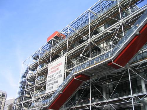 Centre Pompidu in Parijs