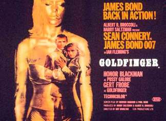 Beste James Bond song is Goldfinger