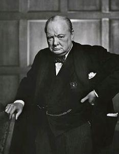Yousuf Karsh: Churchill, december 1941
